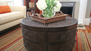 Decorative Circular Coffee Table