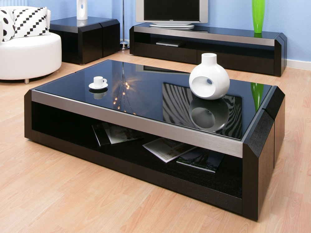 Deluxe Glossy Large Coffee Table