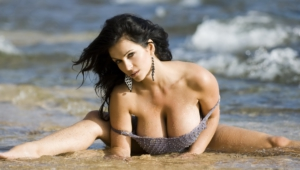 Denise Milani Background