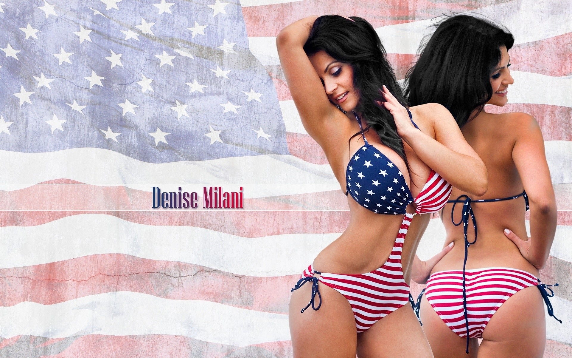 Denise Milani Wallpaper For Computer