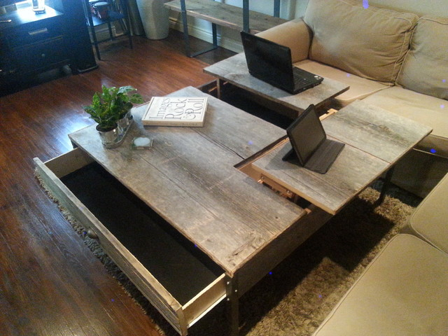 Double Pop Up Coffee Table
