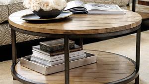 Durham Round Coffee Table Ballard Design