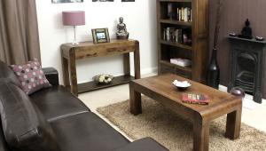 Easy Walnut Coffee Table