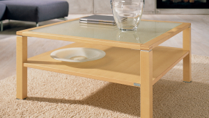 Elegant Maple Coffee Table