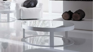Elegant Round Coffee Table