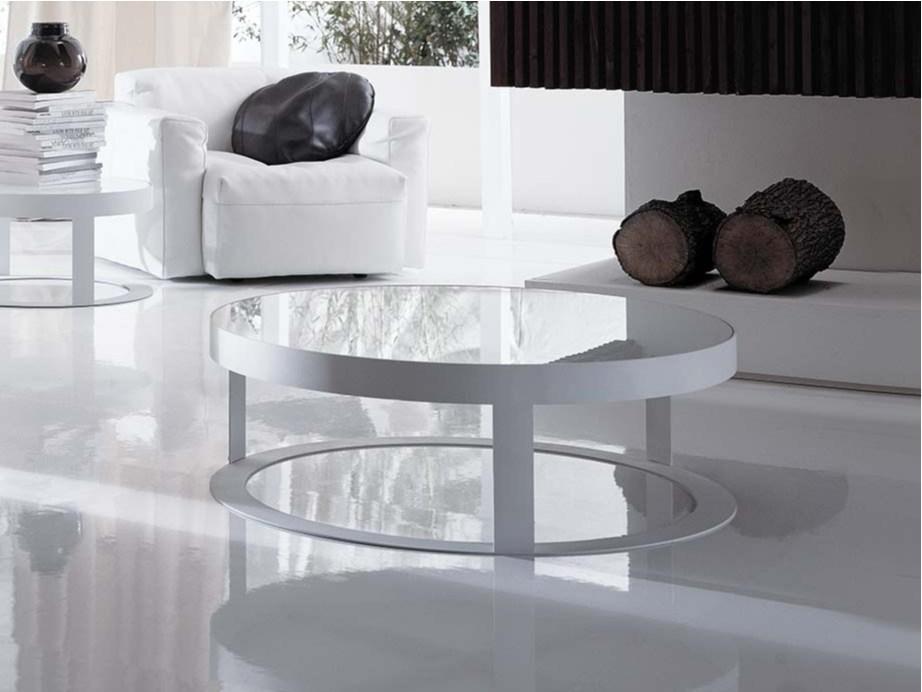 Elegant Round Coffee Table