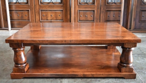 Elegant Rustic Coffee Table