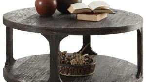 Exotic Circular Coffee Table