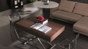 Extendable Fold Out Coffee Table