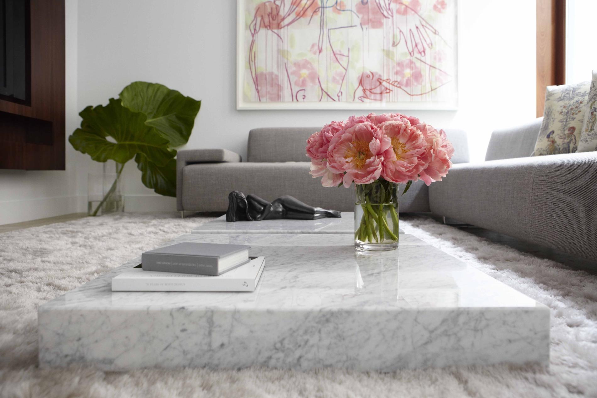 Flat Living Room Coffee Table