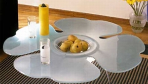 Flower Shape Coffee Table Idea
