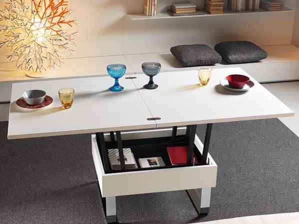 Fold Out Coffee Table Transforming To Dining Table