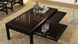 Folding Coffee Table With Expanding Top