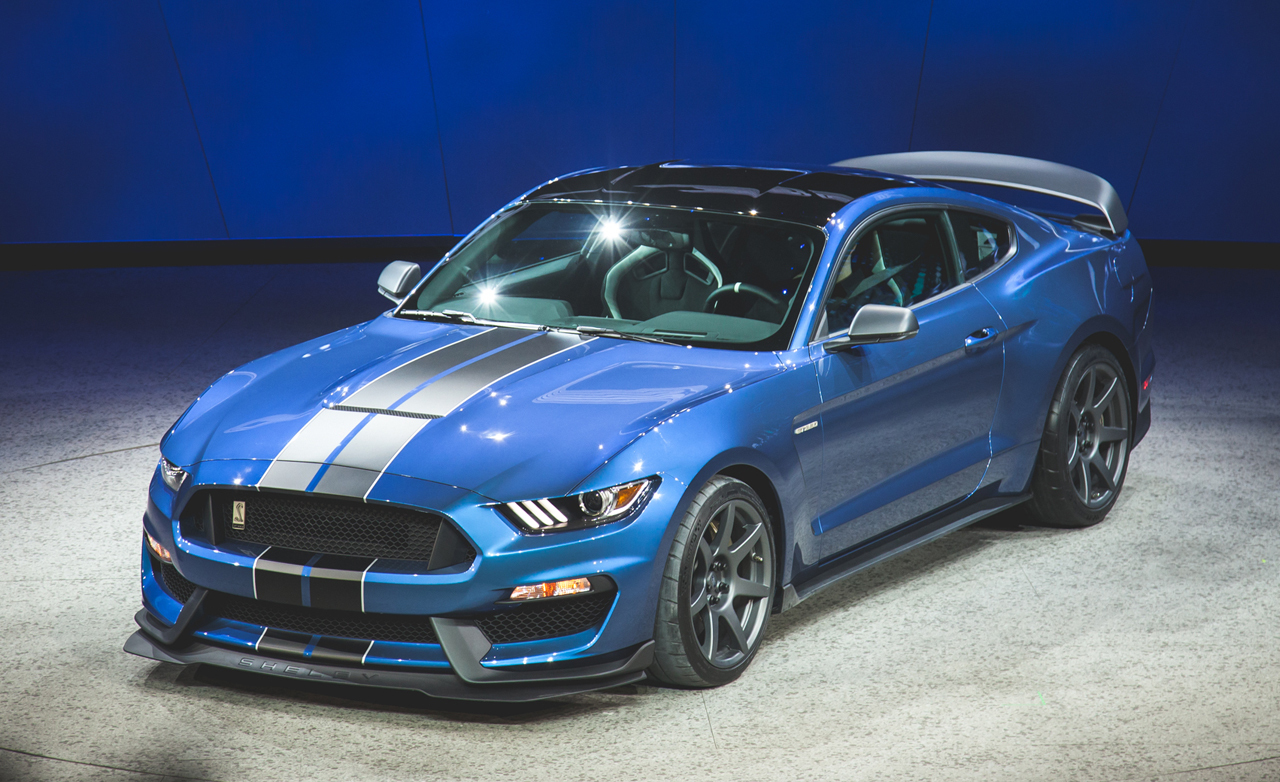 Ford Mustang Shelby GT350 2016 Wallpapers HD