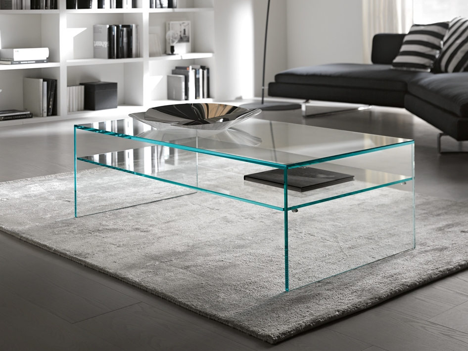 Fully Glass Coffee Table