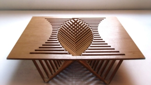 Functional Folding Coffee Table