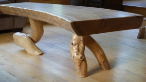 Funky Log Coffee Table