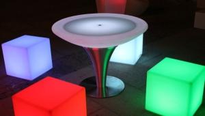 Futuristic Led Coffee Table