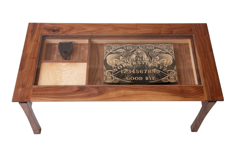 Game Glass Display Coffee Table