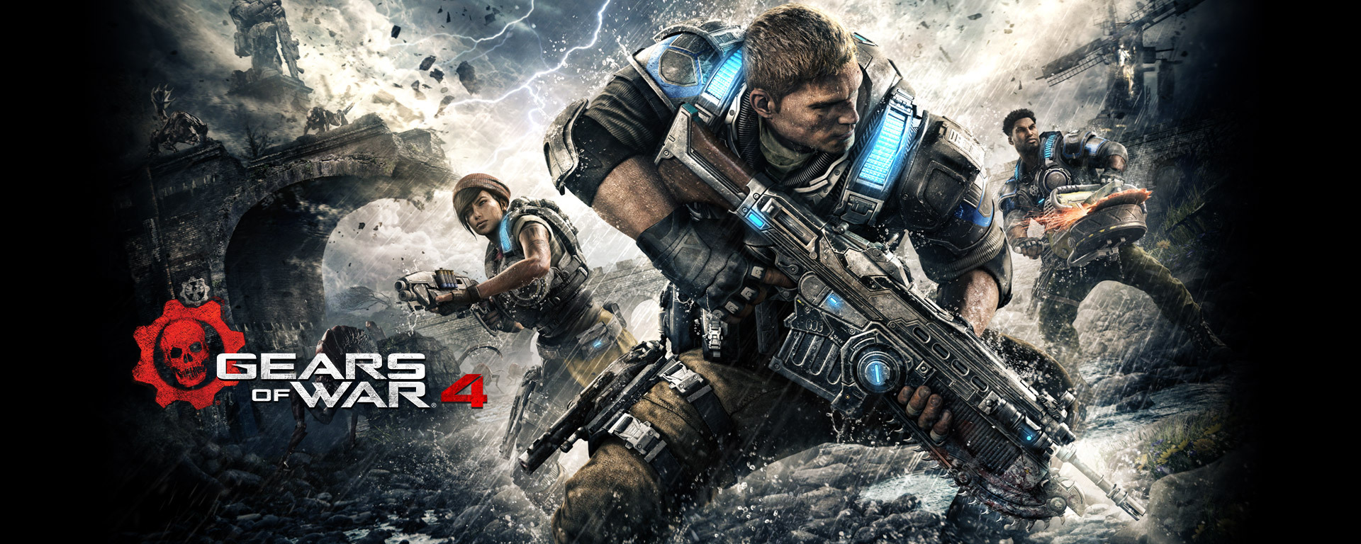 Gears Of War 4 Widescreen