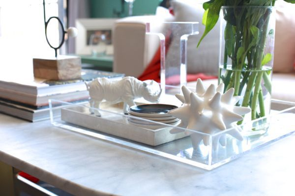 Glass Tray For Coffee Table