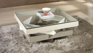 Glossy Glass Coffee Table