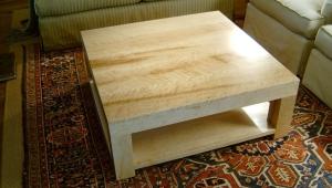 Handmade Maple Coffee Table