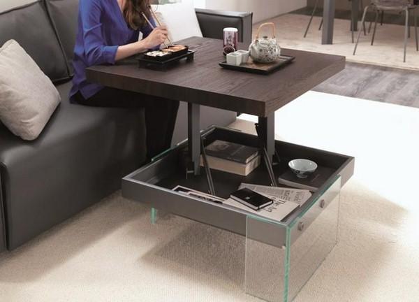High Adjustable Coffee Table Height