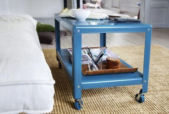 IKEA Coffee Table With Wheels