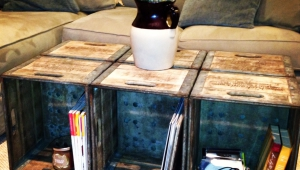 Idea For Crate Coffee Table