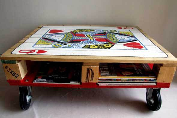 Idea For Painting Coffee Table