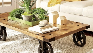 Idea For Removeable Coffee Table