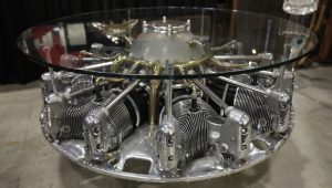Incredible Engine Coffee Table
