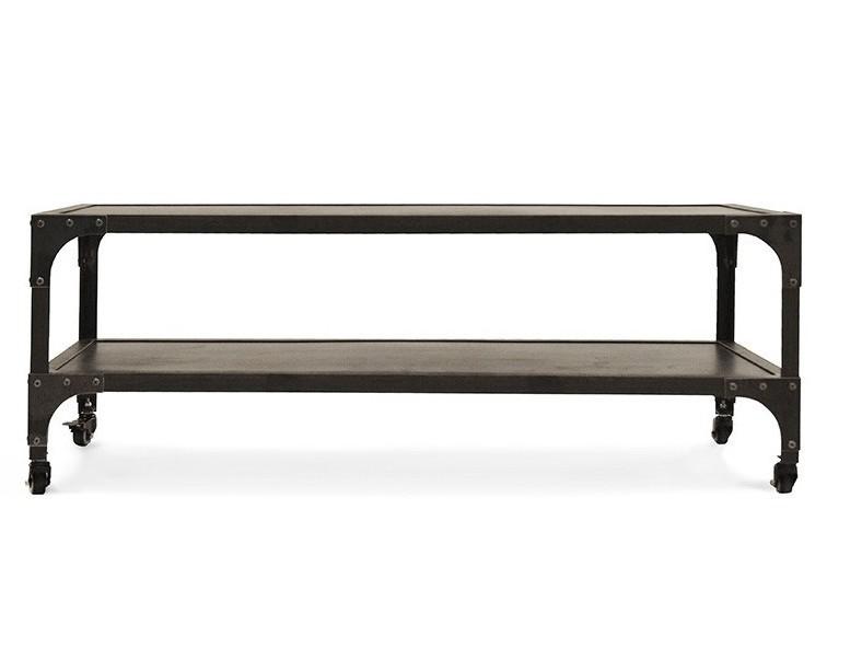 Industrial Coffee Table In Black