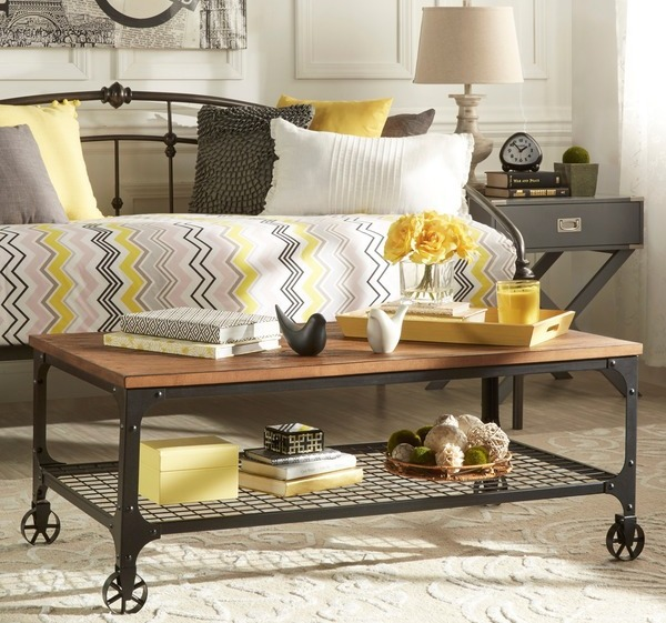 Industrial Overstock Coffee Table