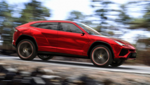 Lamborghini Urus HD Background
