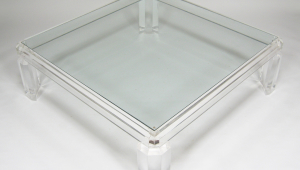 Large Lucite Coffee Table