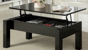 Lift Black Coffee Table