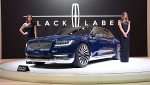 Lincoln Continental 2017 HD Wallpaper