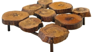 Log Coffee Table Design