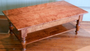 Maple Coffee Table Classic Style