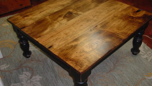 Maple Top Coffee Table