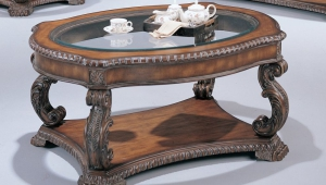 Massive Antique Coffee Table