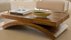 Massive Solid Wood Coffee Table