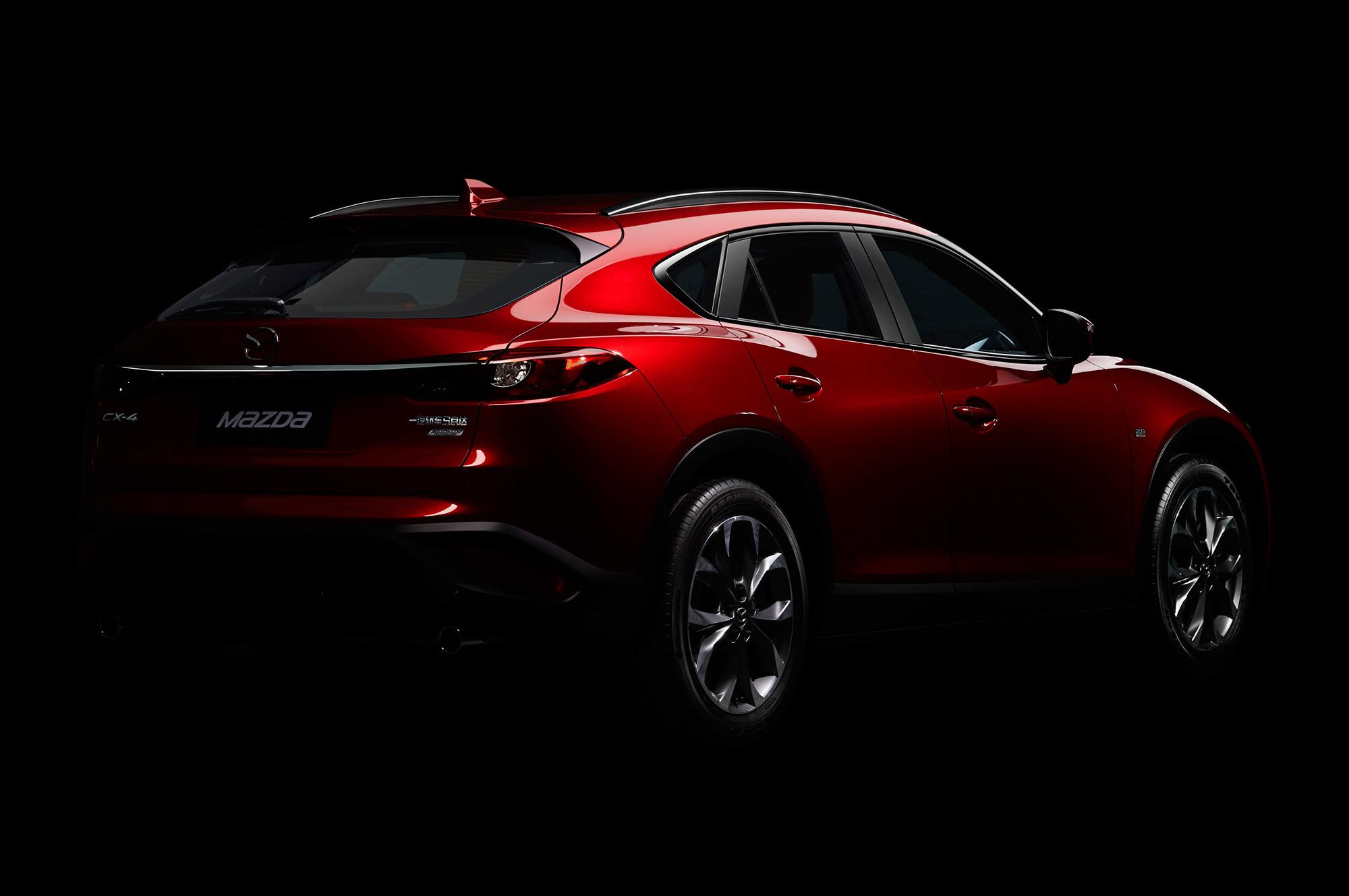 Mazda CX 4 Widescreen