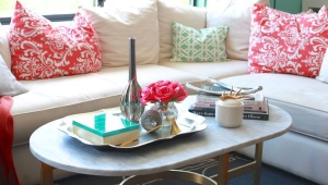 Metallic Tray For Coffee Table
