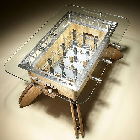 Modern Foosball Coffee Table