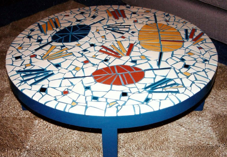 Modern Mosaic Coffee Table
