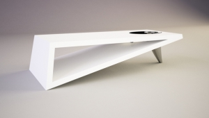 Modern Narrow Coffee Table