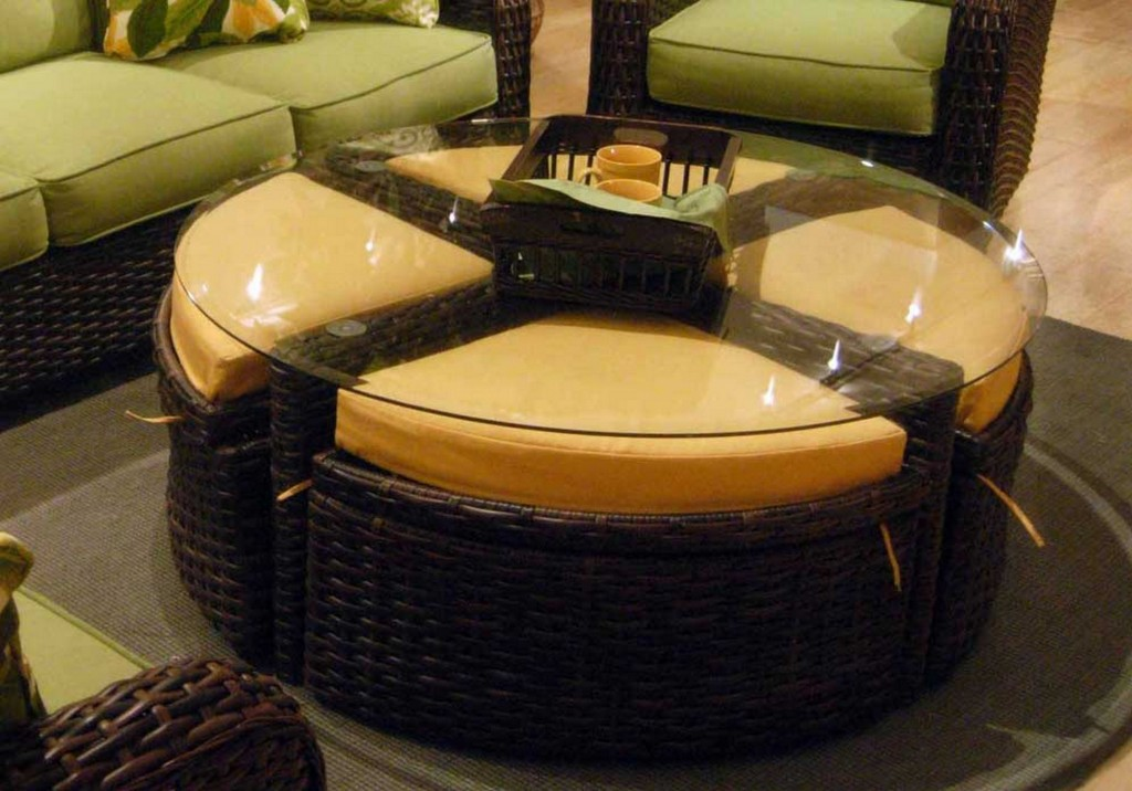 Modern Ottoman Coffee Table